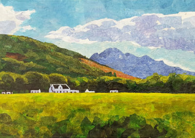 View towards Simonsberg